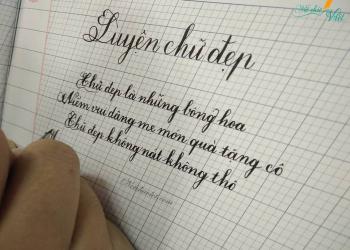 luyện viết chữ đẹp lớp 1